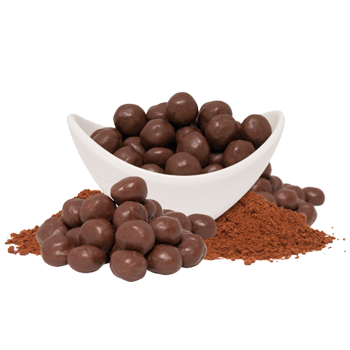Chocolate Soy Puffs